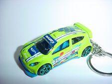 NEW 3D GREEN 2012 FORD FIESTA CUSTOM KEYCHAIN keyring key gt RACE finish SPEED