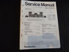 Original Service Manual Technics  SH-EH600