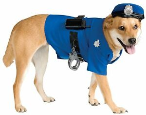 Police Dog Halloween Costume Pet Costumes Rubies Police Officer