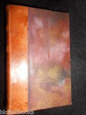 RENE BOYLESVE; La Jeune Fille (1921) Vintage French Literature, Leather Binding