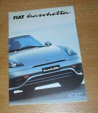 FIAT Barchetta 8 pagina Opuscolo pieghevole del 2000
