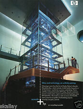 2004 Print Ad Hewlett Packard HP Charlie Palmer Aureole Wine Tower Mandalay Bay