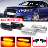 Pair LED Side Marker Signal Light Fit Audi A3 S3 A4 S4 RS4 B6 B8 A6 S6 RS6 C5 C7