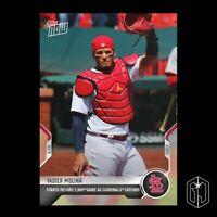 Yadier Molina - 2021 Topps Now MLB Card #74 - St. Louis Cardinals  PR: 1842