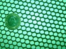 GREEN 33cm x 16cm SEMI-RIGID HDPE 7mm HEAVY DUTY PLASTIC MESH SCREEN FISH FILTER