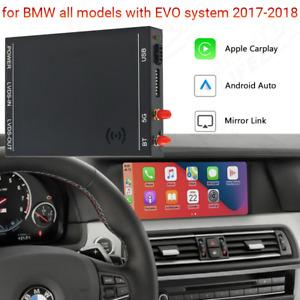 Wireless IOS CarPlay Android Auto Interface for BMW X1 X3 X4 X5 NBT-EVO System