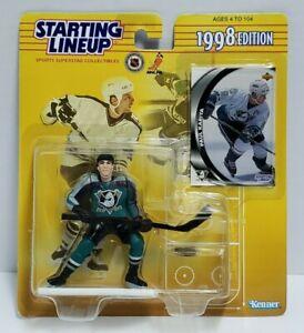 PAUL KARIYA Anaheim Mighty Ducks Starting Lineup SLU NHL 1998 Figure & Card NEW