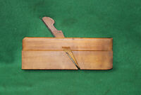 "FINE USER Antique Vintage 3/8"" Bead Woodworking Moulding Plane Inv#EB40"