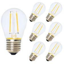 6x E27 Nicht Dimmbar Glühfaden LED Filament Lampe 2W 180 Lumen 2700K Warmweiß