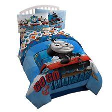 Thomas & Friends Microfiber Twin Comforter, Cuddle Pillow, Plush Blanket NEW