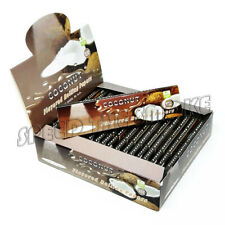 1 Box 25 Packs 110mm COCONUT Fruit Flavored Cigarette Rolling Paper 160 Papers