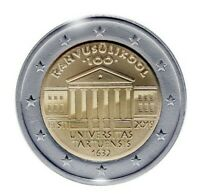 2 Euro Estland 2019 100 Jahre Universität von Tartu