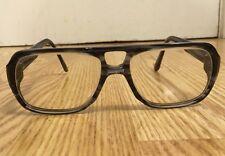"Rare Vintage Mr. Z Grey Haze ""Modern"" Eyeglasses Full Plastic Frame 54â–«20 145"