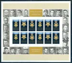 US 4988 Medal of Honor Vietnam, Forever Sheet/24 Mint NH, Free Shipping