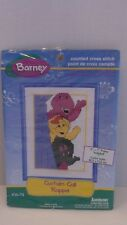 Barney Curtain Call Rappel Counted Cross Stitch Kit #16-74