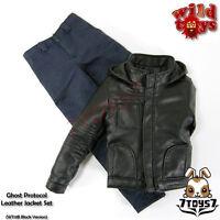 Wild Toys 1/6 Ghost Protocol_Black Jacket Set w/ Blue pants _Leather-like WT019B