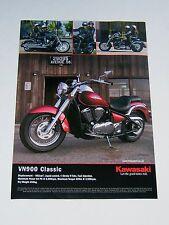 Kawasaki VN900 Classic Advert from 2006 - Original Advertisement