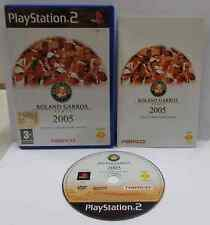 SONY Playstation 2 PS2 Play Station PAL ITALIANO ROLAND GARROS 2005 SMASH COURT