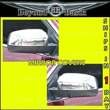 2005-2007 FORD FREESTYLE ABS Triple Chrome Mirror Covers Overlays Trims Caps