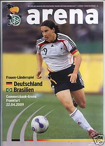 22.04.2009 DFB-Arena 2/2009 Deutschland - Brasilien in Frankfurt