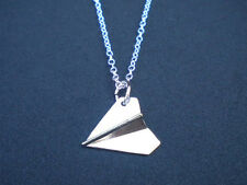 Hot 1D One Direction Harry Styles Paper Plane Necklace Airplane Directioner Xmas