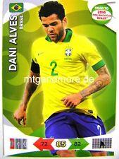 Adrenalyn XL-dani alves-brasil-Road to 2014 FIFA World Cup Brazil
