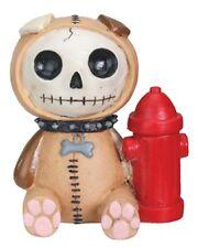 Furrybones Figurine - Rocky The Dog - New In Box Skeleton Skull In Costume