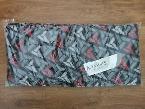 """Assassin's Creed Loot Crate DX Exclusive 70"""" Neck Scarf - NEW - Ubisoft sealed"""