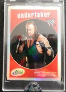 2007 eTopps The Undertaker # 369/999 WWE Refractor ETW-5