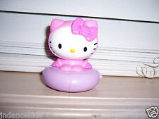 Sanrio HELLO KITTY On Snow Tube Sled McDonald's Toy 2011  Pull Back Rolling Toy