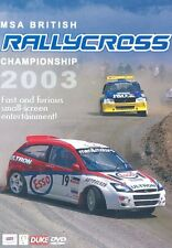 MSA British Rallycross Championship - Review 2003 (New DVD) RallyX