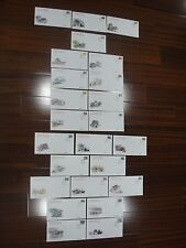 CHINA PRC 1995-99 R28 R29 The Great Wall Complete 24v FDC,Nice Cachet