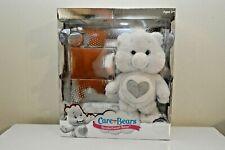 Care Bears Tenderheart Bear Limited Edition White Silver Swarovski Crystals 2674