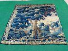 "Antique c.1700s -1800s French Gobelin Tapestry Fragment 6'10""x6'11"""