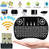 Mini i8 Backlit Wireless Keyboard 2.4GHz Remote Control Touchpad for TV Box PC