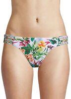 Red Carter 170137 Womens Hipster Bikini Bottom Swimwear White Size Medium/8