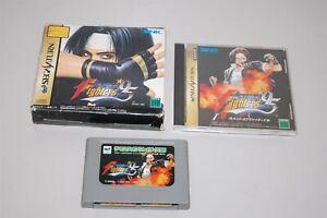 The King Of Fighters '95 Ram package Japan Sega Saturn game