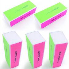 1pc Nail Art Manicure 4 Way Shiner Nail Buffer Buffing Block Sanding File Block