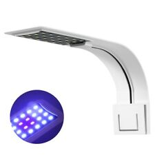 Aquarium Fish Tank Clipser eau Lampe lumière LED éclairage Bleu & Blanc lumière