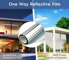 One Way Mirror Window Tint Privacy Film Solar Anti UV Heat Reflective for Home