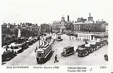 Lancashire Postcard - Old Blackburn - Station Square c1925 -  V2233