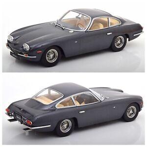 1/18 KK Scale Lamborghini 400 GT 2+2 1965 Anthracit Neuf Livraison Domicile