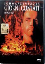 Dvd Giorni contati con Arnold Schwarzenegger 1999 Usato