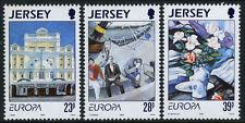 Jersey 631-633, MI 612-614, MNH. EUROPA CEPT. Contemporary Art, 1993