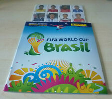 Panini World Cup Brazil 2014 empty Album + update set 71 sealed extra stickers
