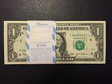 2003 STAR NOTE $1 Dollar Atlanta,Crisp, Uncirculated ,consecutive