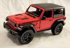 Kinsmart - 1:34 Scale Model 2018 Jeep Wrangler Rubicon Red (BBKT5412DR)