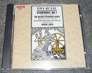CHAN 8501 - DVORAK - SYMPHONY No.7 - JARVI - FULL SILVER / GERMANY