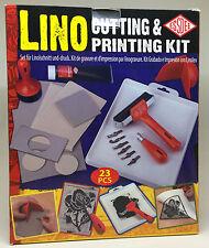 Essdee 23 Stück Umfassende Block Printing Lino Schneiden & Druck-kit