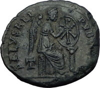 Saint AELIA FLACILLA Theodosius I Wife 379AD Authentic Ancient Roman Coin i65284